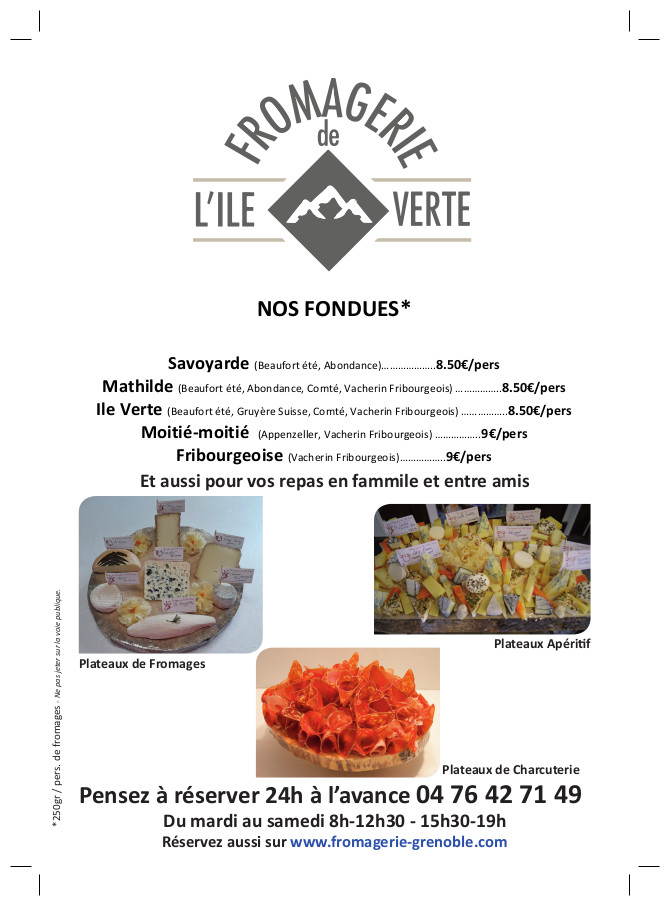 Flyer fondues